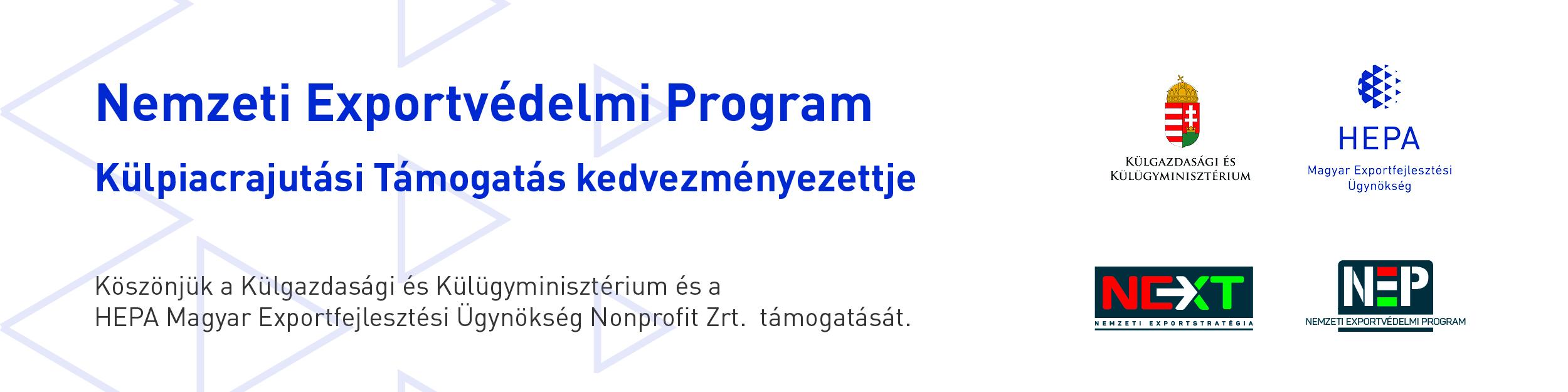 Weboldali tájékoztató banner